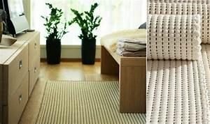 Teppich Für Allergiker : handgekn pfter teppich aus baumwolle und papiergarn duetto von korvela ~ Watch28wear.com Haus und Dekorationen