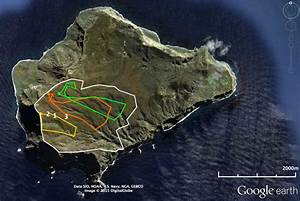 Google Earth Image Of Inaccessible Island Showing The
