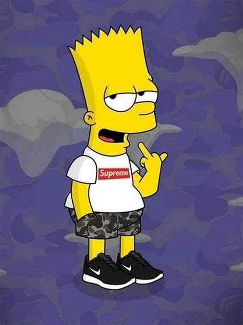 Supreme X Bart Simpson Wallpaper HD cho Android Tải về APK