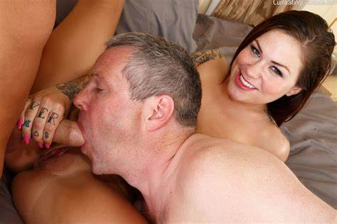 Bisexual Ass Sucking Arse Kiss Karmen Karma Has Her Muff Licked While Taking Rammed