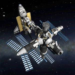 Overview - Realistic Mir Space Station Stock