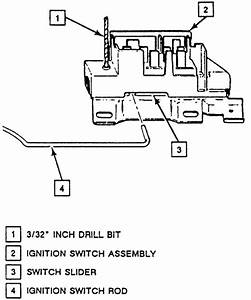 1995 Corsica  How Do You Replace Ignition Switch On A 1995