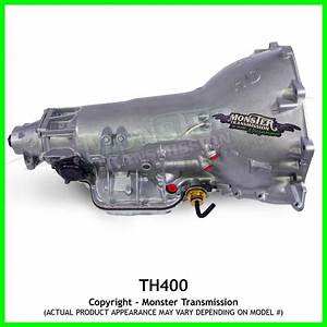 Turbo 400 Th400 Transmission 4 U0026quot  Tail  Rebuilt Th400