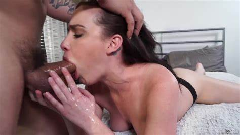 Gorgeous Pigtails Old Deepthroat Toying
