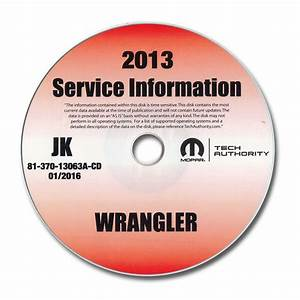 Jeep Wrangler Jk Service Manual