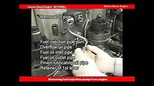 Yanmar Diesel Engine Repair And Maintenance 20  Removing