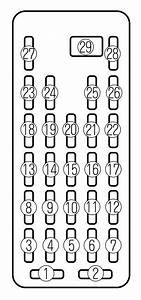 Mazda Millenia  1995 - 2002  - Fuse Box Diagram