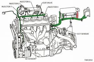 Electrical Wiring Diagram 2005 Kalos 4  Ecm  Engine