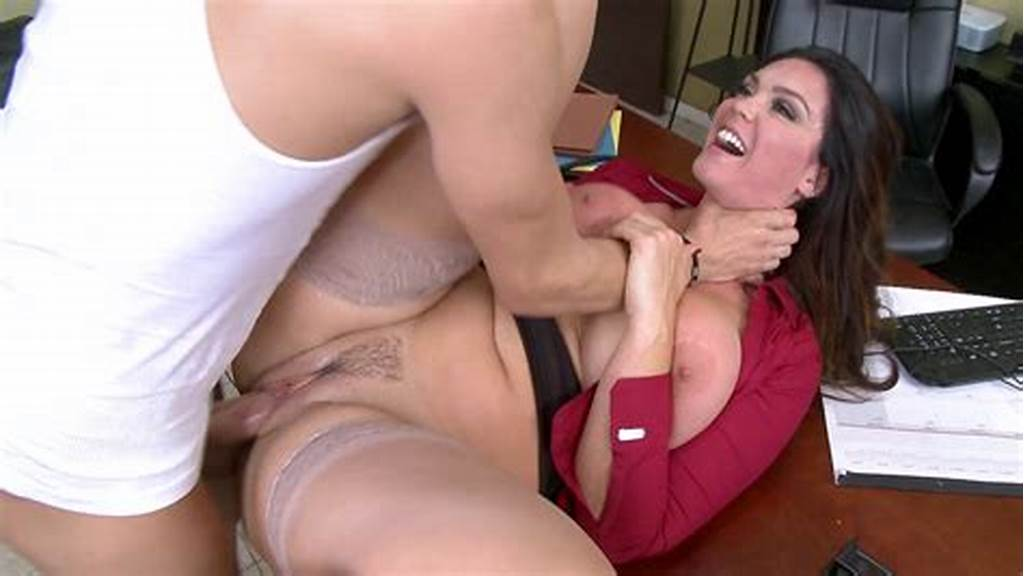 #Busty #Whore #Alison #Tyler #Gets #Her #Cunt #Screwed #On