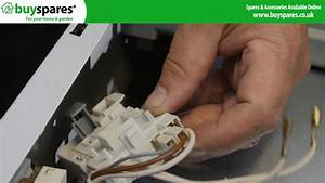 How To Replace A Hotpoint Dryer Door Switch