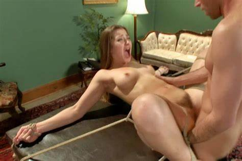 Strong Titted Housewife Enjoying A Rough Dildo