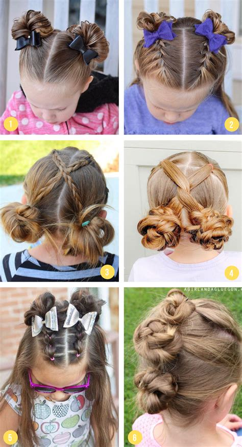Easy Girls Hairstyles For Toddlers Tweens &what