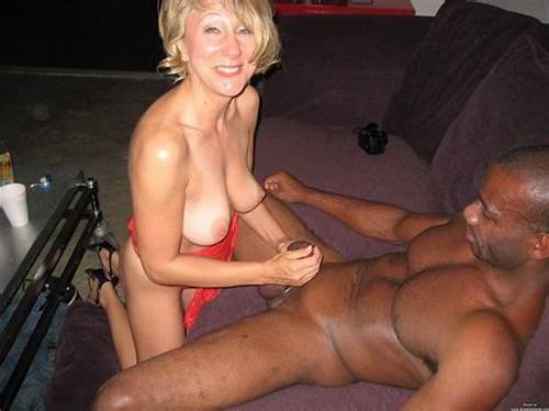 Lucky Boyfriend Getting Porn With Mmf Naughty Matures #Blonde #Wife #Performs #Handjob #To #Black #Man