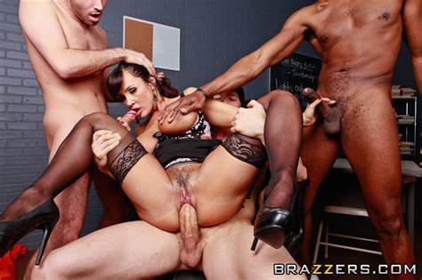 Giant Titties Party Group Banged