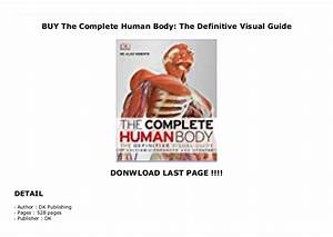 Buy The Complete Human Body  The Definitive Visual Guide