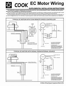 Ec Motor Wiring Supplemental Installation Instructions