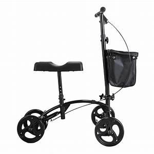 Adjustable Height Heavy Duty Knee Walker Scooter W  Soft