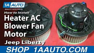 How To Replace Heater Blower Motor 02