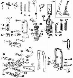 Bissell 89q9 Upright Vacuum Parts