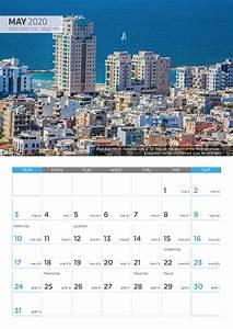 Large Wall Calendar 2020 2020 Israel Calendar Landscapes Of Israel By Photographer