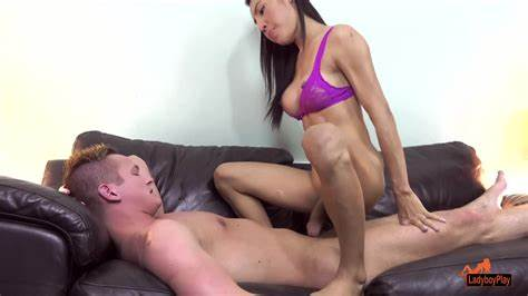 Teenie Ladyboy Shows Her Firsttime Butthole