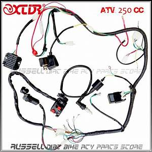 Complete Electrics Atv Quad Four Wheeler 200cc 250cc Ignition Coil Cdi Switch Key Rectifier