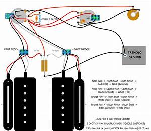 Vintage Mini Humbucker Wiring Diagrams