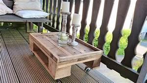 Paletten Tisch Bauen : tisch selber bauen aus paletten youtube ~ Watch28wear.com Haus und Dekorationen