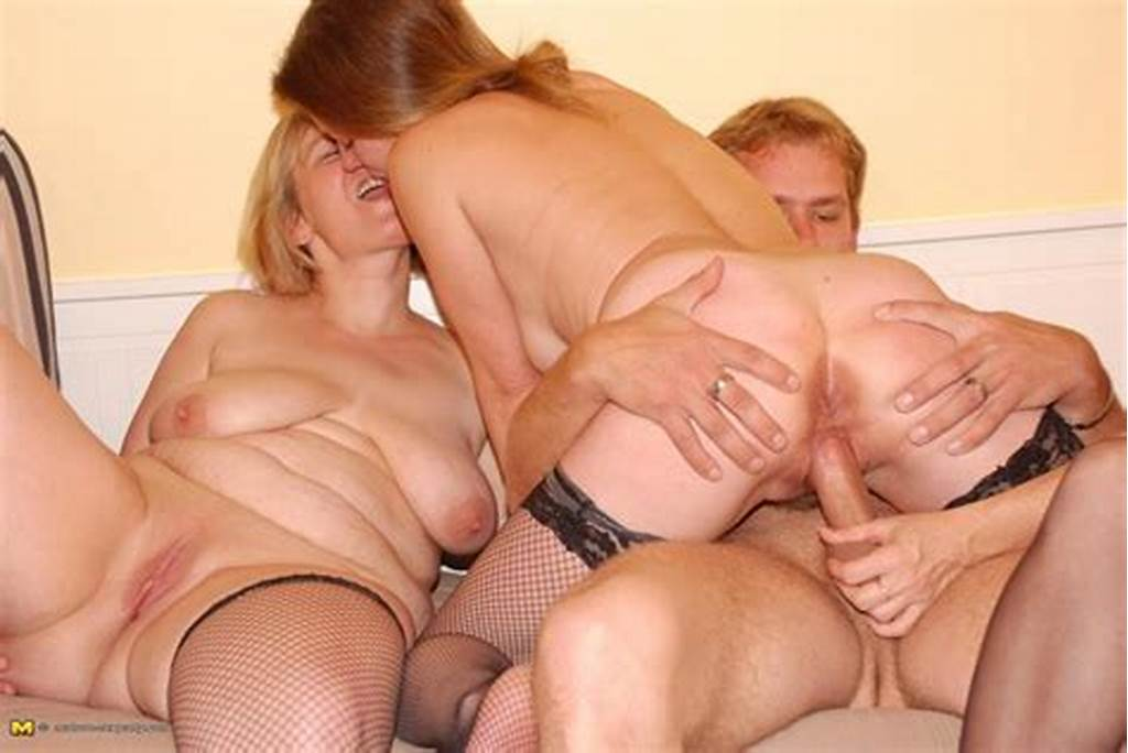 #This #Lucky #Dude #Fucks #Three #Older #Women