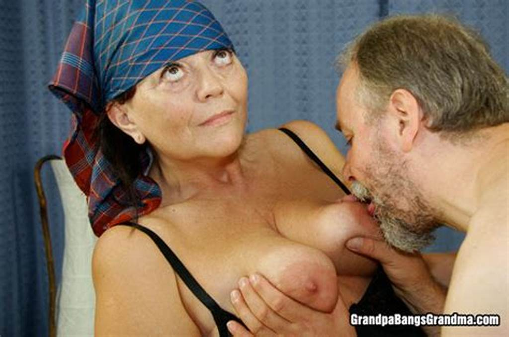 #Naughty #Grandmother #Horny #Gets #A #Happy #Pounding