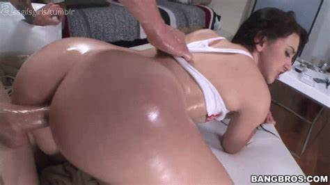 Pounded Japanese Hottie London Keyes Doggy Style
