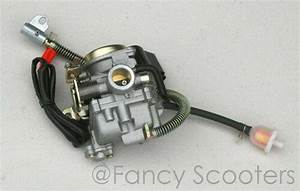 High Performance Pd19j Carburetor Gy6 50 For Scooters W  Float Bolw Drain Line