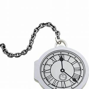 Oversized Pocket Watch Adult White