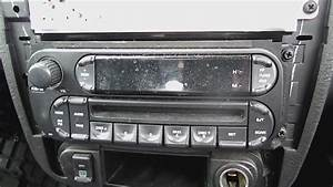 Simple Removal Steps For 2004 2005 Dodge Neon Stereo With