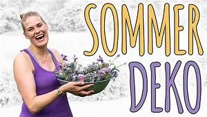 Neue Deko Trends 2018 : sommer deko im trend 2018 ultra violet diy youtube ~ Watch28wear.com Haus und Dekorationen