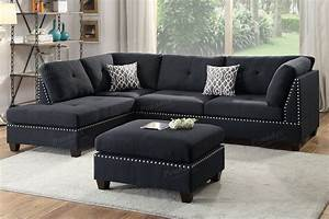 black fabric sectional sofa and ottoman steal a sofa With fabric sectional sofas with ottoman