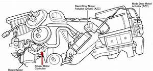 1999 Jeep Grand Cherokee  Heater Blower Motor  The Fan