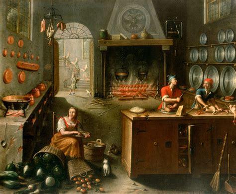 femme nue cuisine le feu à travers la peinture w o d k a