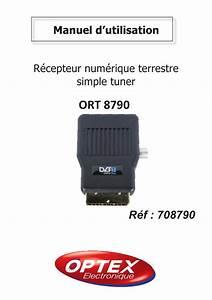 Notice Optex Ort 8790