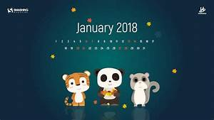 Inspiring desktop wallpapers to welcome 2018 january for Smashing magazine january 2018