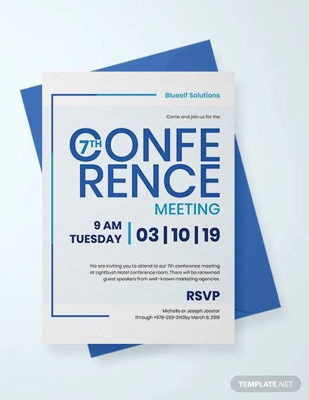 23+ Business Invitation Card Designs and Examples PSD