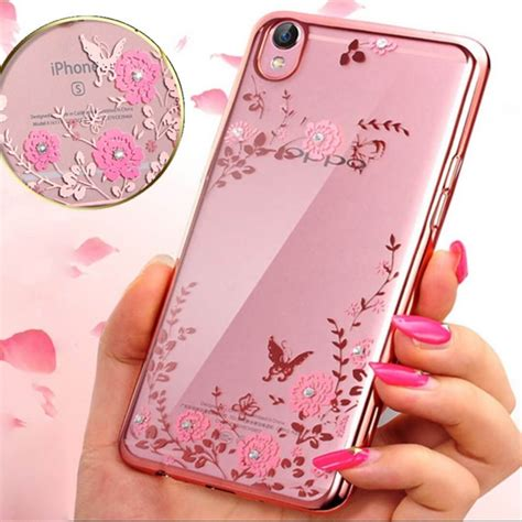 OPPO A37 Soft Case Flower Ultra Thin