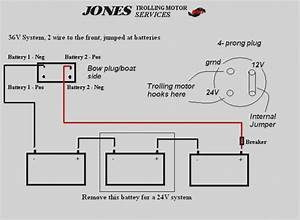 Wiring 24 36 Volt Switchable Trolling Motor Diagram