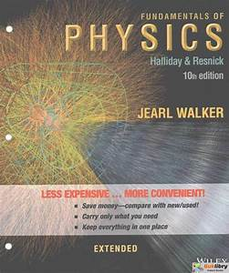 Instructors Solutions Manual Fundamentals Of Physics Extended 10th Edition By Halliday  U0026 Resnick