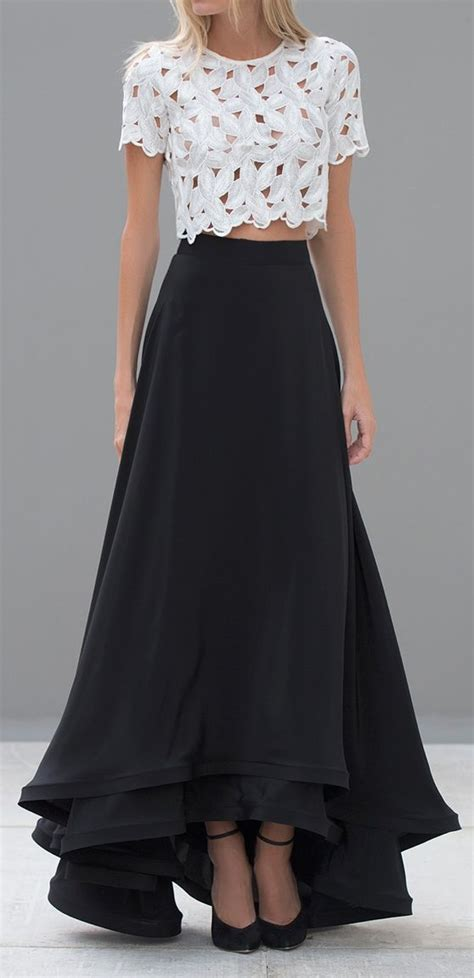 Best 25+ Long skirts ideas on Pinterest   Long skirt outfits Tops for long skirts and Long ...