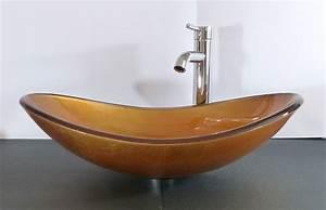 Waschbecken Oval Aufsatz : nero badshop aufsatz glas waschbecken sunshine gold ~ A.2002-acura-tl-radio.info Haus und Dekorationen