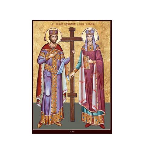 Anul omagial al sfinților împãrați constantin și elena. 21 mai Sfintii Imparati Constantin si Elena, mama sa