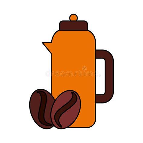 Black drip, drip with cream, latte, cappuccino, macchiato, turkish, and just plain espresso. Coffee seeds background stock vector. Illustration of hexagon - 44006799