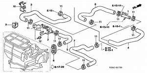 2005 Civic Heater Hose Routing Diagram Needed
