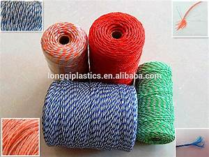 Electric Fence Rope China Goat Farming Polywire